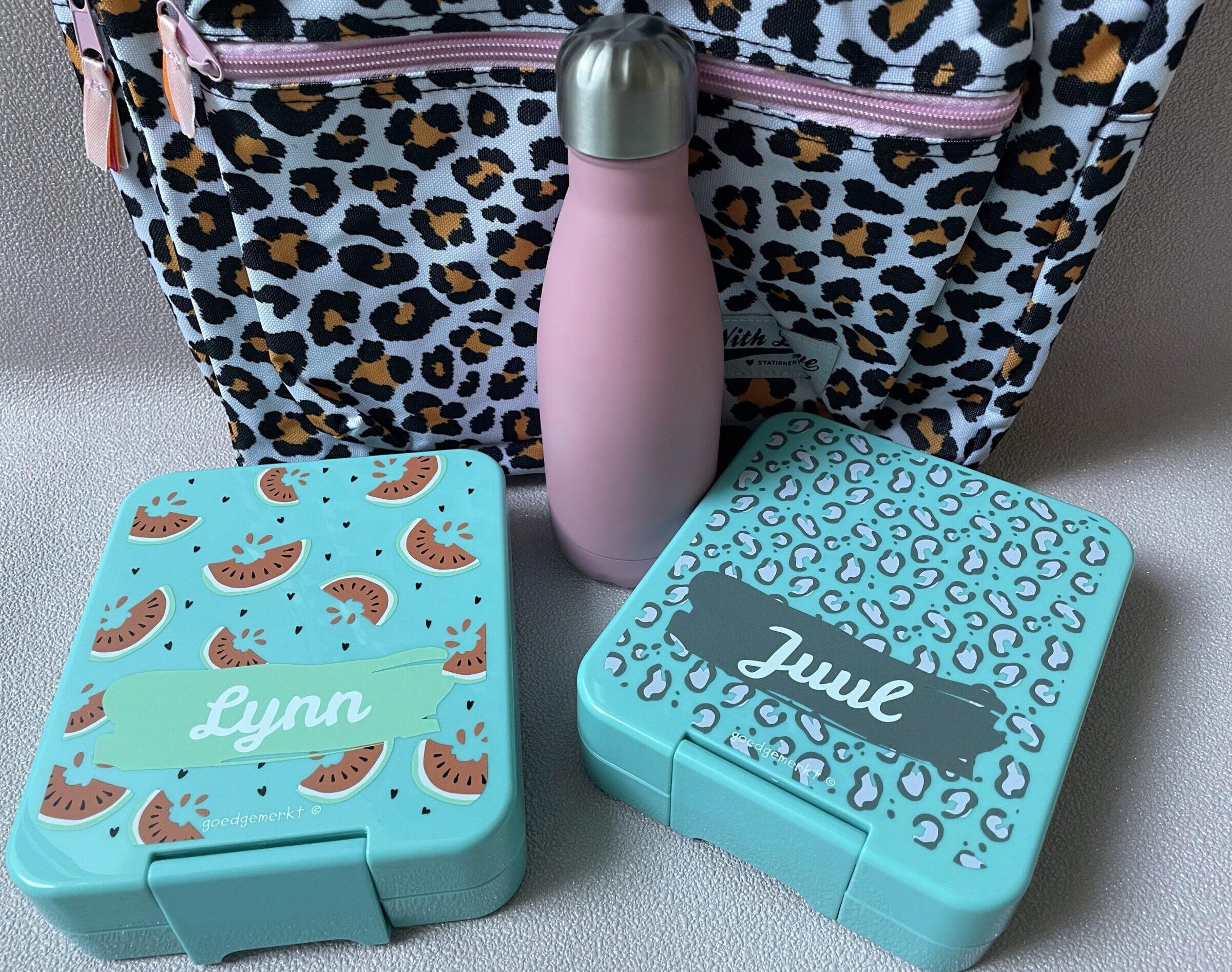 back to school - tips voor nieuwe schooljaar lunchbox met naam