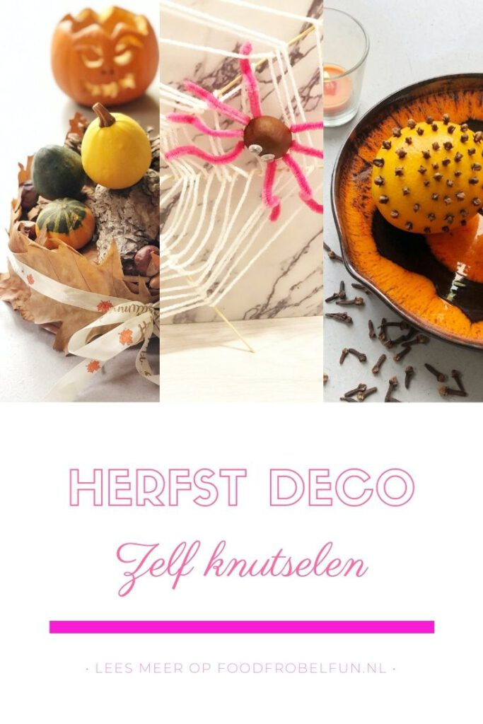decoratie herfst knutselen - pinterest.
